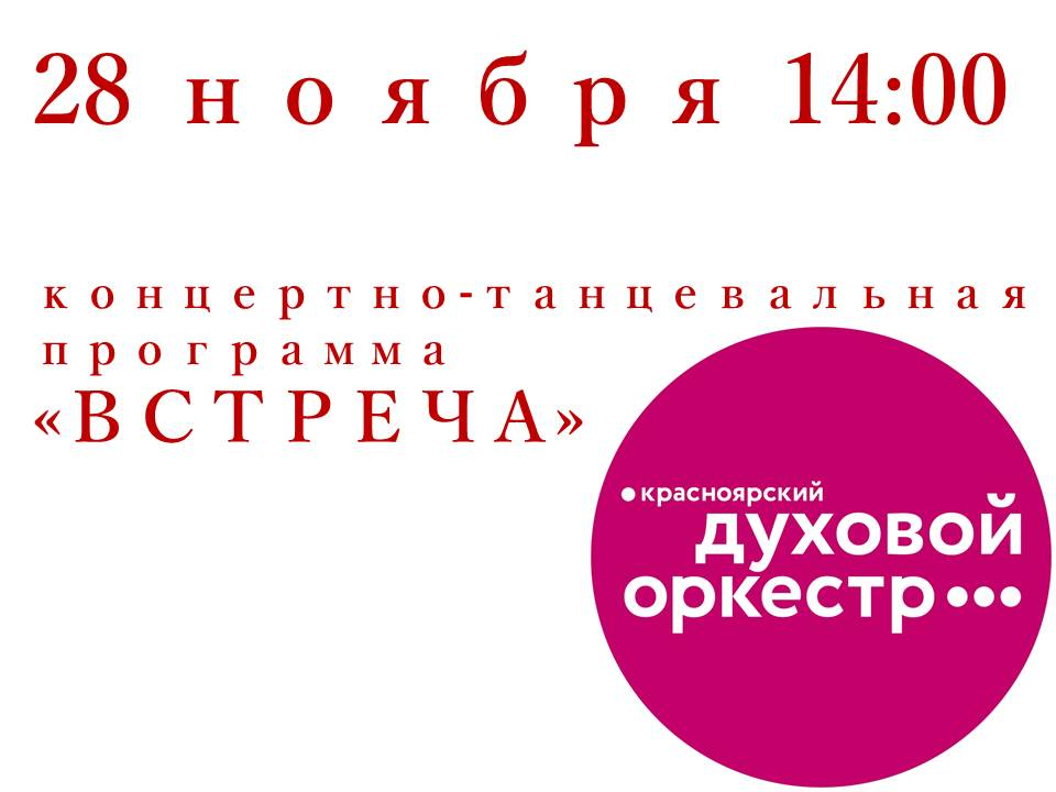 Концерт Встреча 28.11.2018
