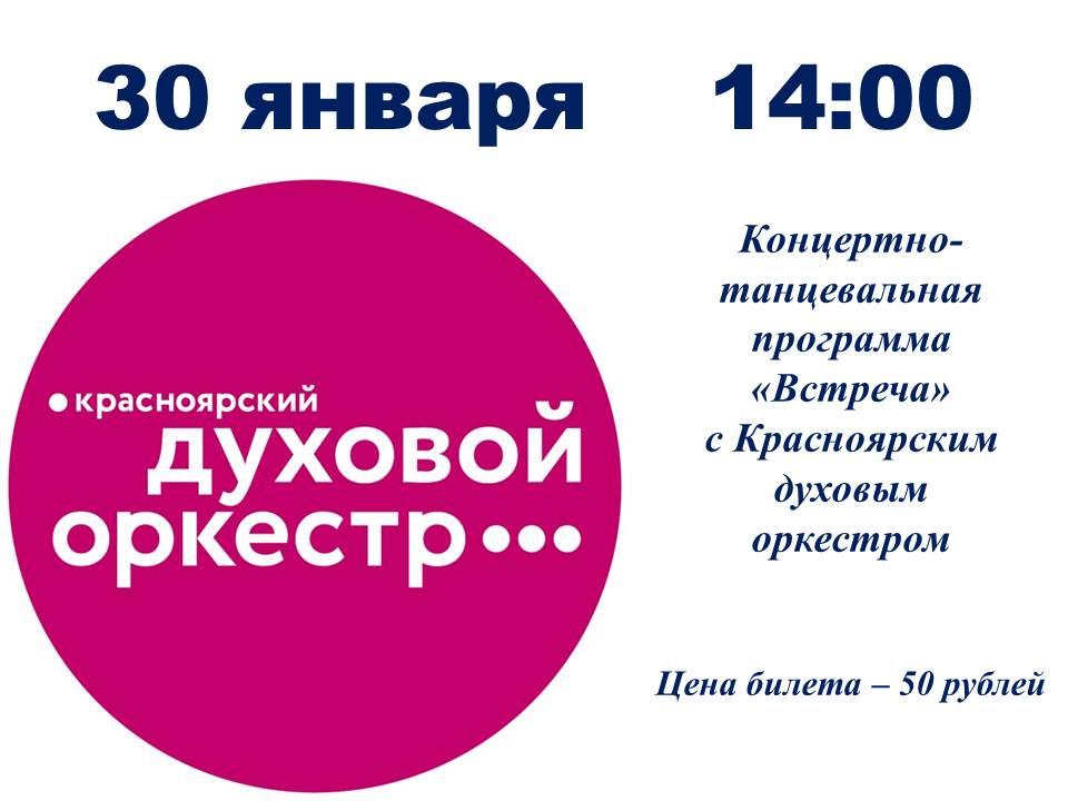 Концерт Встреча 30.01.2019